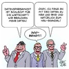 Cartoon: Datensparsamkeit (small) by Timo Essner tagged daten datensicherheit datensparsamkeit sigmar gabriel alexander dobrindt thomas de maiziere demaiziere cartoon timo essner