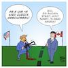 Cartoon: G7-Dolchstoßlegende (small) by Timo Essner tagged trump trudeau g7 gipfel g6 dolchstoß kanada usa krieg weißes haus cartoon timo essner