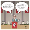 Cartoon: Konservative Revolution (small) by Timo Essner tagged alexander,dobrindt,csu,wahlkampf,landtagswahl,nazijargon,nationalsozialismus,weimarer,republik,rechtsruck,cartoon,timo,essner