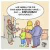 Cartoon: Neue Hardware (small) by Timo Essner tagged tk telefon internet telekom vodafone o2 daten datensicherheit datenschutz wanzen service servicebox cartoon timo essner