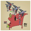 Cartoon: Syria 2015 (small) by Timo Essner tagged syria,syrien,usa,russland,frankreich,russia,france,is,isil,isis,rebels,rebellen,assad,war,politics