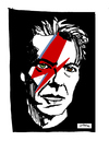 Cartoon: David Bowie (small) by Carma tagged david,bowie,celebrities,music