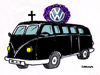 Cartoon: Funeral (small) by Carma tagged volkswagen
