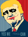 Cartoon: joker (small) by Carma tagged trump,usa,elections