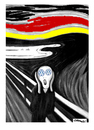 Cartoon: Scream (small) by Carma tagged volkswagen,munch