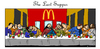 Cartoon: The Last Supper (small) by Carma tagged last,supper,easter,jesus,mcdonalds,meal