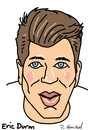 Cartoon: Erik Durm (small) by Ralf Conrad tagged erik,durm,wm,2014