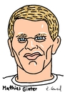 Cartoon: Matthias Ginter (small) by Ralf Conrad tagged matthias,ginter,wm,2014