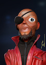 Cartoon: Fury Avengers (small) by Rüsselhase tagged marvel fury samel jackson avengers