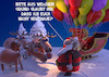 Cartoon: Luftballons (small) by Rüsselhase tagged weihnachten,rentier,luftballon,fun,funny