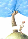 Cartoon: Man and Nature (small) by Agim Sulaj tagged man,nature