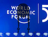 Cartoon: davos20 (small) by kotrha tagged world,economic,forum,davos,2020,euro,dollar,libra