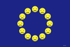 Cartoon: eusmile (small) by kotrha tagged new,eu,flag