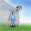 Cartoon: ger (small) by kotrha tagged soccer,football,fussball,championships,brasil