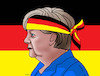 Cartoon: merkelbol (small) by kotrha tagged germany,angela,merkel,new,elections,europa,euro,dollar