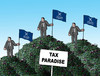 Cartoon: mossaraj-en (small) by kotrha tagged panama,papers,tax,paradise,world