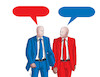 Cartoon: redblue (small) by kotrha tagged red,blue