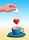Cartoon: teasrdc (small) by Lubomir Kotrha tagged may,love,woman,man