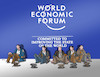 Cartoon: zobroforum (small) by kotrha tagged davos,world,economy,forum
