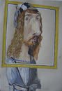 Cartoon: Albrecht Dürer (small) by SAPIENS tagged cartoon,drawing,colour