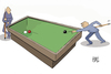 Cartoon: billiards (small) by kotbas tagged billiards,3d,game,competition,competitor