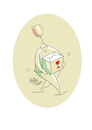 Cartoon: fragile (small) by kotbas tagged glass,fragile,package,box,goods