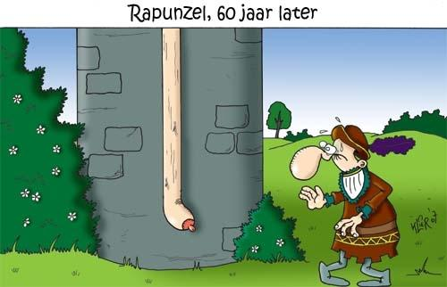 Cartoon: Rapunzel (medium) by Klier tagged fairy,tale