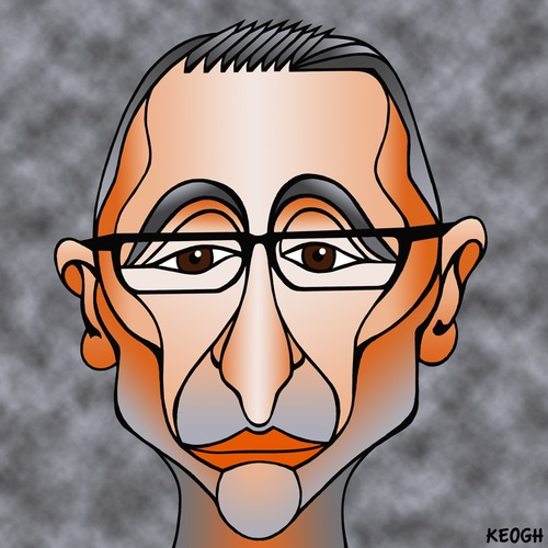 Cartoon: Richard Di Natale (medium) by KEOGH tagged richard,dinatale,caricature,australia,keogh,cartoons,politics,australian,politicians