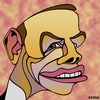 Cartoon: Tony Abbott (small) by KEOGH tagged tony,abbott,caricature,australia,keogh,cartoons,politics,australian,politicians