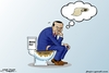 Cartoon: Erdugan the thinker ... (small) by jalal hajir tagged erdugan,isis