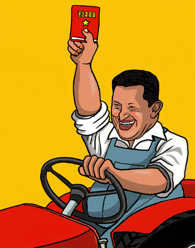 Cartoon: Chavez (medium) by perugino tagged chavez,venezuela