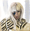 Cartoon: Lady Gaga (small) by doodleart tagged lady,gaga,singer,music,celebrity