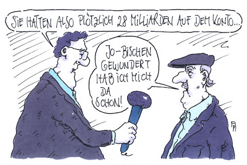 Cartoon: dickes konto (medium) by Andreas Prüstel tagged deutsche,bank,fehlüberweisung,cartoon,karikatur,andreas,pruestel,deutsche,bank,fehlüberweisung,cartoon,karikatur,andreas,pruestel
