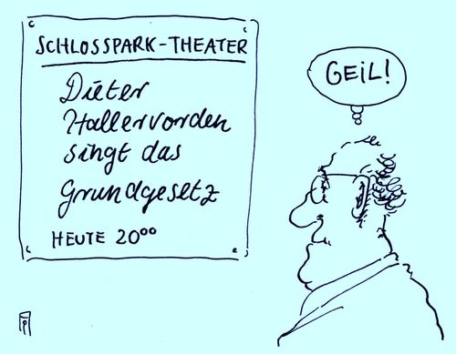 Cartoon: didi singt (medium) by Andreas Prüstel tagged dieter,hallervorden,gesang,böhmermannaffäre,kunstfreiheit,satire,grundgesetz,schlossparktheater,berlin,didi,cartoon,karikatur,andreas,pruestel,dieter,hallervorden,gesang,böhmermannaffäre,kunstfreiheit,satire,grundgesetz,schlossparktheater,berlin,didi,cartoon,karikatur,andreas,pruestel