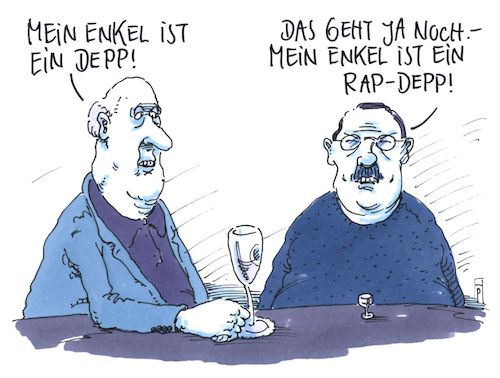 Cartoon: enkel (medium) by Andreas Prüstel tagged rap,rapper,texte,depp,enkel,cartoon,karikatur,andreas,pruestel,rap,rapper,texte,depp,enkel,cartoon,karikatur,andreas,pruestel