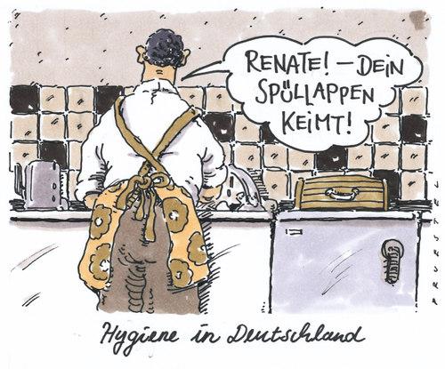 Hygiene Van Andreas Prustel Politics Cartoon Toonpool