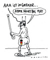 Cartoon: AAA (small) by Andreas Prüstel tagged rating,ratingagenturen,aaa,bewertung,deutschland,inkontinenz,windeln