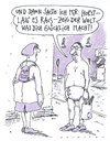 Cartoon: coming out (small) by Andreas Prüstel tagged obsession,windeln,öffentlichkeit,comingout
