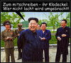 Cartoon: umbringen (small) by Andreas Prüstel tagged kimjong,un,nordkorea,diktator,klodeckel,mitschreiben,tod,cartoon,collage,andreas,pruestel