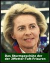 Cartoon: von der leyen (small) by Andreas Prüstel tagged frisur,ursula,von,der,leyen,cartoon,collage,andreas,pruestel