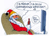 Cartoon: worldcup katar (small) by Andreas Prüstel tagged fußballweltmeisterschaft,katar,winter,weihnachten,weihnachtsmann,weihnachtslied,cartoon,karikatur,andreas,pruestel