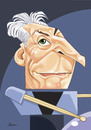 Cartoon: Charlie Watts (small) by Ulisses-araujo tagged charlie,watts
