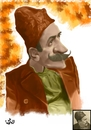 Cartoon: Ion Luca Caragiale (small) by handren khoshnaw tagged handren,khoshnaw,ion,luca,caragiale,romania,caricature