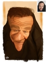 Cartoon: Robin Williams (small) by handren khoshnaw tagged handren,khoshanw