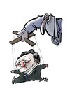 Cartoon: Barroso (small) by kap tagged barroso,ue,europe,parliament