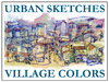 Cartoon: Village colors (small) by yalisanda tagged urban sketches village colors vietnam italy santimatti illustration design
