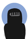 Cartoon: Women (small) by Mohamad Altamimi tagged isis,women