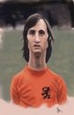 Cartoon: Johan Cruyff Caricature (small) by Danny Kohn tagged nederland