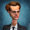 Cartoon: Andrew Garfield (small) by BehnamParan tagged andrewgarfield,spiderman,actor