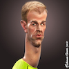 Cartoon: Joe Hart (small) by BehnamParan tagged footballer,sculpt